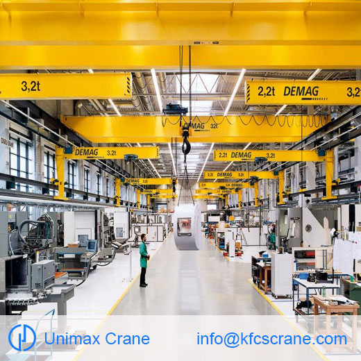 Our wall-mounted travelling cranes are ideal workstation cra