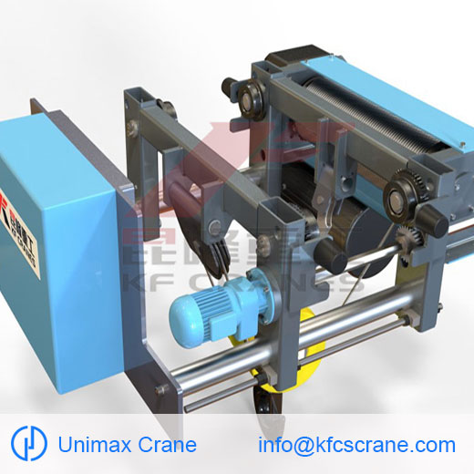 The features of wire rope electric hoist made in C